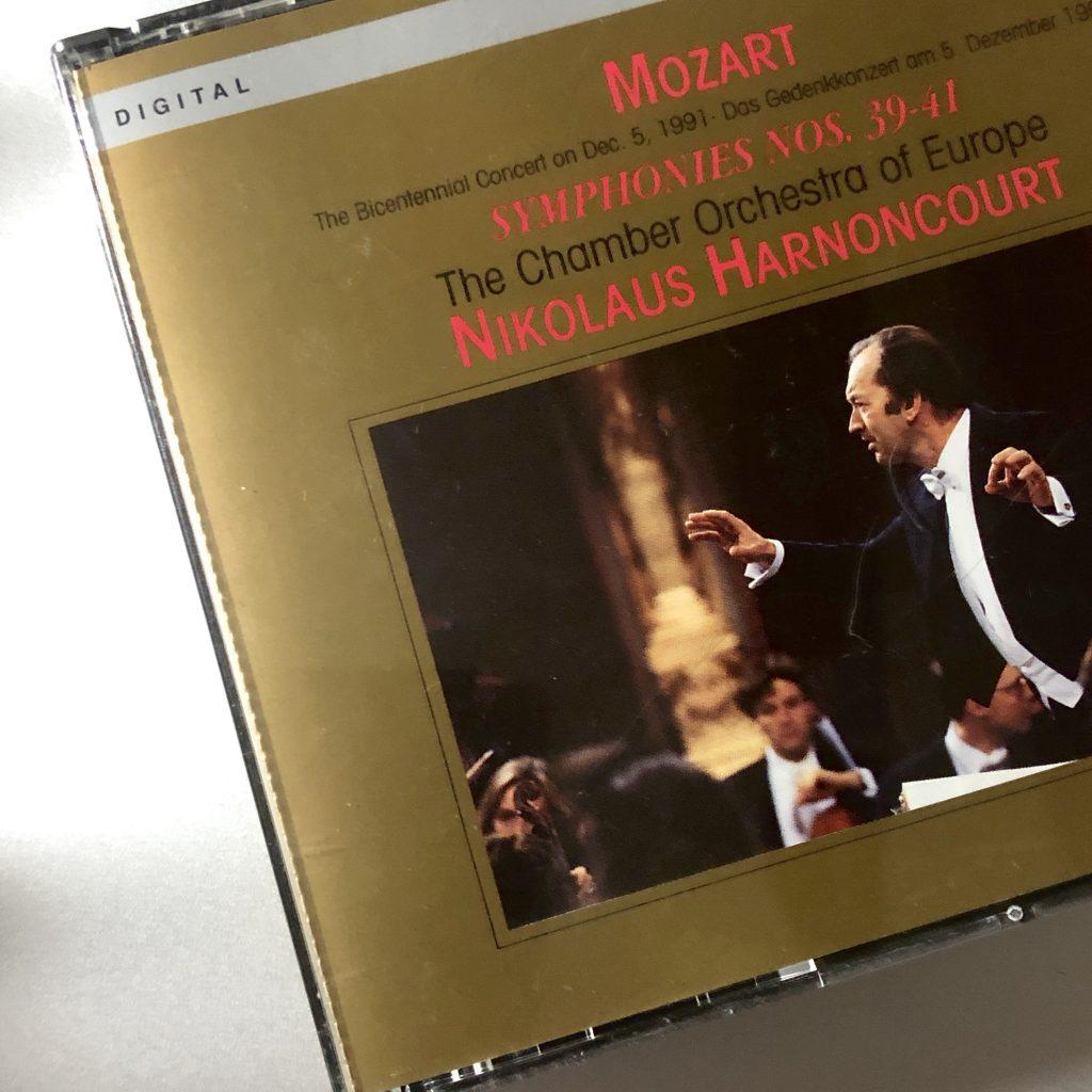 アーノンクール ヨーロッパ室内管弦楽団 モーツァルト 交響曲第39番 第40番 第41番
