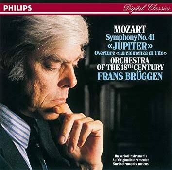 ブリュッヘン 18世紀オーケストラ モーツァルト 交響曲第41番