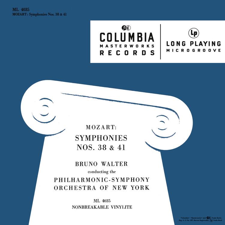 ワルター ニューヨーク・フィル モーツァルト 交響曲第38番 第41番
